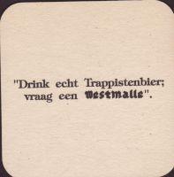 Pivní tácek westmalle-37-zadek-small