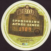Pivní tácek whistler-3-zadek
