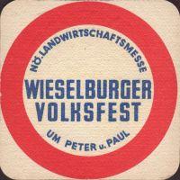 Beer coaster wieselburger-212-zadek-small