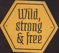 Beer coaster wild-rose-1-zadek