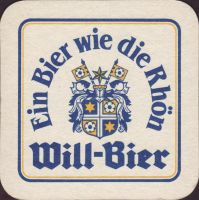 Beer coaster will-25-small