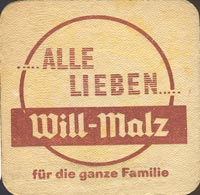 Beer coaster will-bier-1-zadek