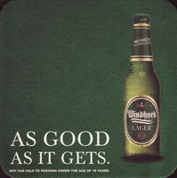 Beer coaster windhoek-10-zadek