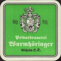 Beer coaster wurmhoringer-privatbrauerei-braugasthof-1-small
