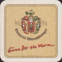 Beer coaster wurmhoringer-privatbrauerei-braugasthof-3-small