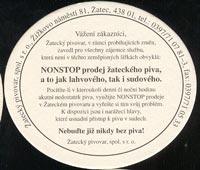 Pivní tácek zatec-3-zadek