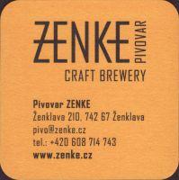 Pivní tácek zenke-2-zadek-small