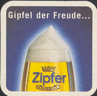 Beer coaster zipfer-14-zadek