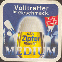 Beer coaster zipfer-20-zadek