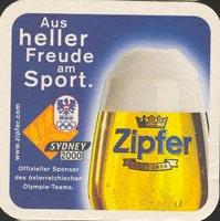 Beer coaster zipfer-6-zadek