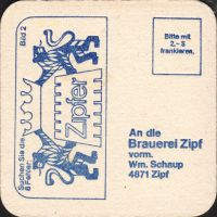 Pivní tácek zipfer-88-zadek-small
