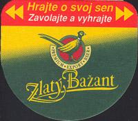 Pivní tácek zlaty-bazant-11