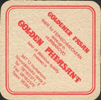 Beer coaster zlaty-bazant-14-zadek