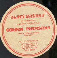 Beer coaster zlaty-bazant-15-zadek