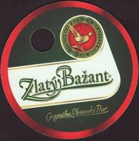 Pivní tácek zlaty-bazant-62