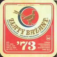 Pivní tácek zlaty-bazant-76-small