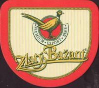 Pivní tácek zlaty-bazant-77-small