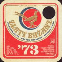 Pivní tácek zlaty-bazant-83-small