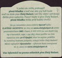 Pivní tácek zlaty-bazant-93-zadek-small