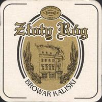 Pivní tácek zloty-rog-browar-kaliski-1