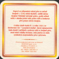 Pivní tácek znojmo-3-zadek