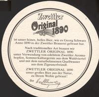 Pivní tácek zwettl-karl-schwarz-1-zadek