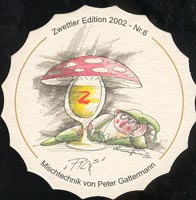 Pivní tácek zwettl-karl-schwarz-22-zadek