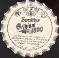 Pivní tácek zwettl-karl-schwarz-28