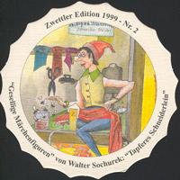 Pivní tácek zwettl-karl-schwarz-29-zadek