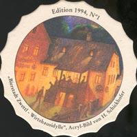 Pivní tácek zwettl-karl-schwarz-3-zadek