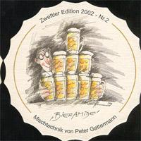 Pivní tácek zwettl-karl-schwarz-36-zadek