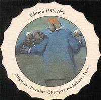 Pivní tácek zwettl-karl-schwarz-39-zadek