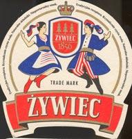 Pivní tácek zywiec-2-oboje