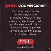 Pivní tácek zywiec-25-zadek-small