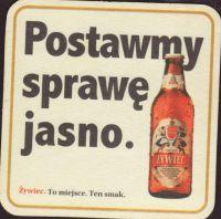 Pivní tácek zywiec-42-zadek-small
