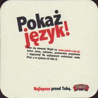 Pivní tácek zywiec-50-zadek-small