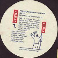 Pivní tácek zywiec-85-zadek-small
