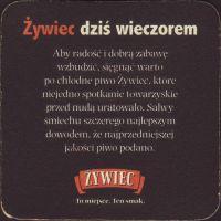 Pivní tácek zywiec-91-zadek-small