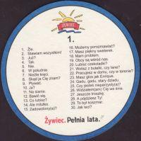 Pivní tácek zywiec-95-zadek-small